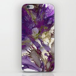 Exotic Purple Flower iPhone Skin