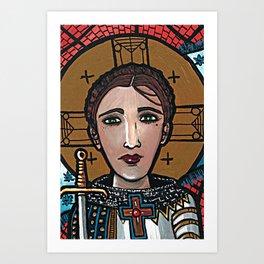 Jeanne d'Arc Art Print