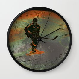 The Game Changer - Ice Hockey Tournament Wall Clock