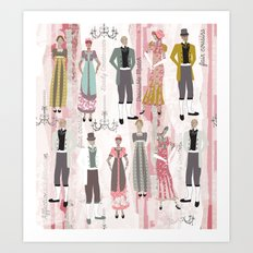 Ode to Austen Art Print