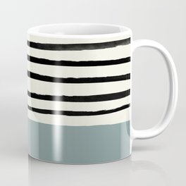 River Stone & Stripes Coffee Mug