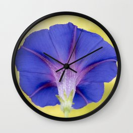 Grandpa Ott's Morning Glory Wall Clock