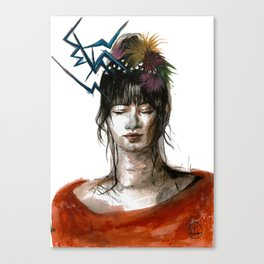 Vibing Canvas Print