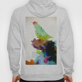 Bird standing on a tree Hoody