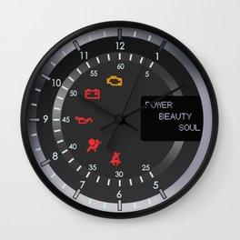 Aston Martin Speedometer Clock Wall Clock