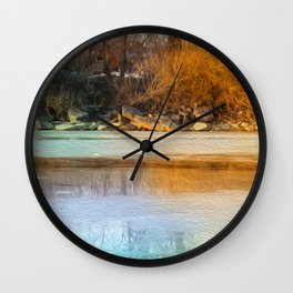 Almost Spring Wall Clock