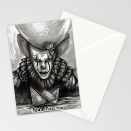 You'll Float Too Stationery Cards