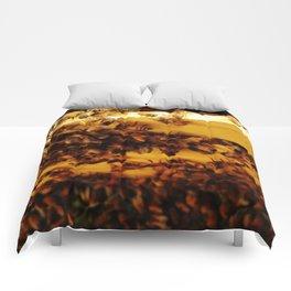 Golden Honeybees Comforters