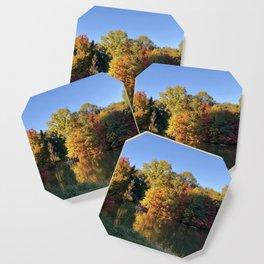 Autumn leaves Coaster