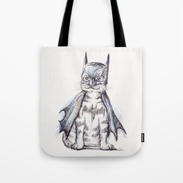 Bat Cat Tote Bag