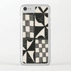 Tapa Cloth | Pacifica Patterns | Tribal Art Clear iPhone Case