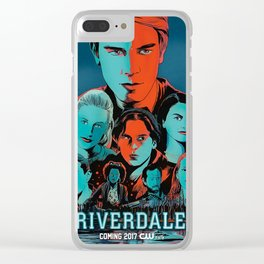 Riverdale Poster Clear iPhone Case