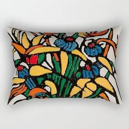 """Christmas Bulbs"" by Australian Artist Margaret Preston Rectangular Pillow"