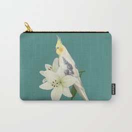 Pied Cockatiel Carry-All Pouch