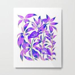 Ultraviolet Nature Metal Print