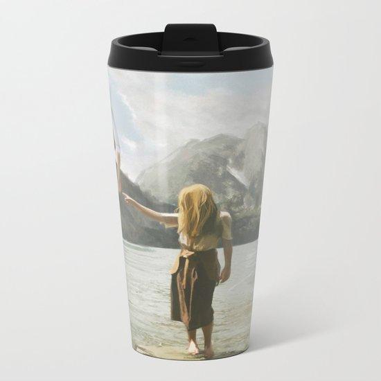 Floating Metal Travel Mug