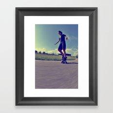 Roller  Framed Art Print