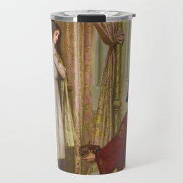 "Edmund Blair Leighton ""The King and the Beggar-maid"" Travel Mug"