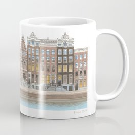 Singel Canal Art Coffee Mug