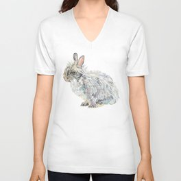 Lionhead Rabbit Unisex V-Neck