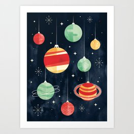 Joy to the Universe Art Print