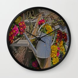 wake up Spring in Laupheim Wall Clock