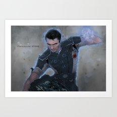 Kaidan Alenko - Vancouver 2186 Art Print