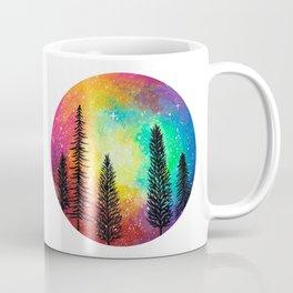 Galaxy Rainbow Tree Coffee Mug