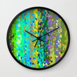 Olive Moon Love Wall Clock