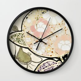 Japanese Modern Interior Art #111 Wall Clock