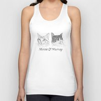 murray Tank Tops featuring Maisie & Murray by Steven Quinn