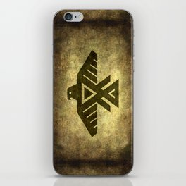 Thunderbird doodem iPhone Skin