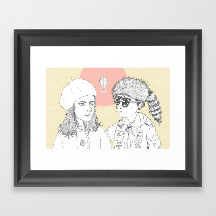 """""""I love you but you don't know what you're talking about"""" Framed Art Print"""