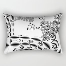 3D - abstraction -76- Rectangular Pillow