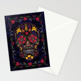 Day of the Dead Sugar Skull Stationery Cards