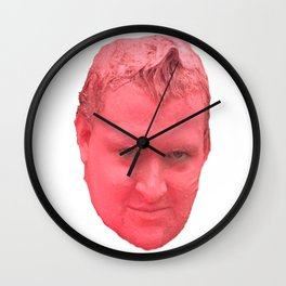 The Art of Pink Wall Clock