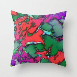 Isolated places Throw Pillow