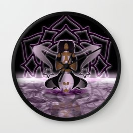 Inner Light: Crown Chakra (UPDATED) Wall Clock