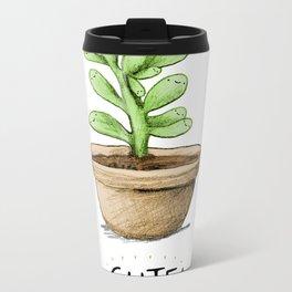 SucCUTElent Metal Travel Mug