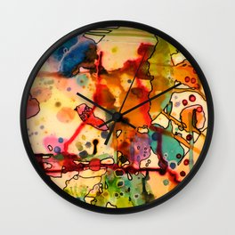 sur le fil Wall Clock