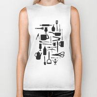 kitchen Biker Tanks featuring Kitchen by ValD