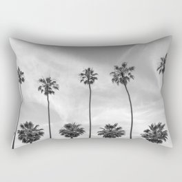 Palm Trees in La Jolla, California Rectangular Pillow