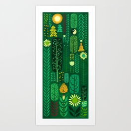 Sacred Forest Art Print
