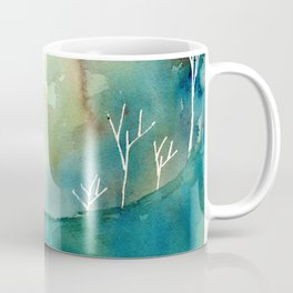 """Cliff and Trees """"Dream State"""" Coffee Mug"""