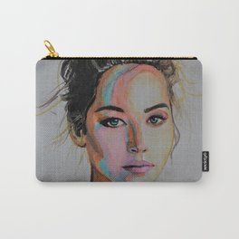 Tender Jennifer Lawrence Carry-All Pouch