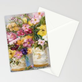 Dreamy Spring Flowers Stationery Cards