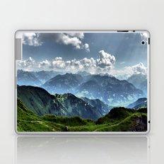 Mountain Peaks in Austria Laptop & iPad Skin