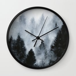 Norwegian woods Wall Clock