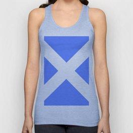 flag of scotland 4– scotland,scot,scottish,Glasgow,Edinburgh,Aberdeen,dundee,uk,cletic,celts,Gaelic Unisex Tank Top