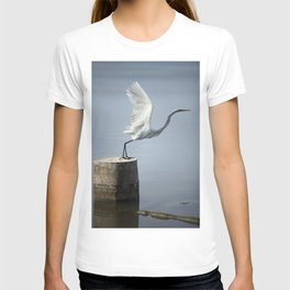 White Heron´s Fly T-shirt